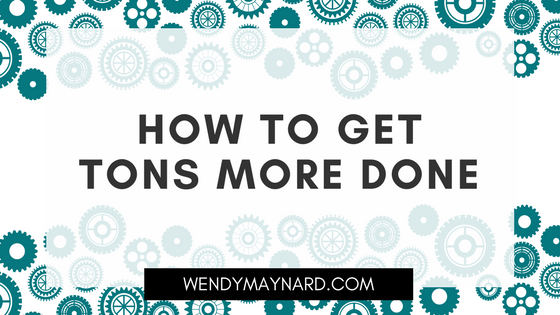 How to get tons more done (swipe my productivity hacks)