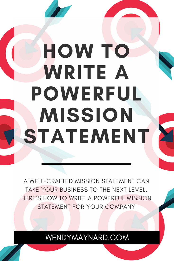 Writing your business Mission Statement