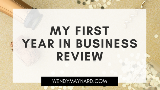My First Year In Business Review