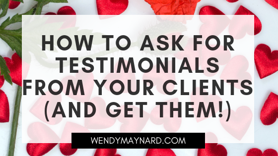 How to ask for testimonials from your clients (and get them!)